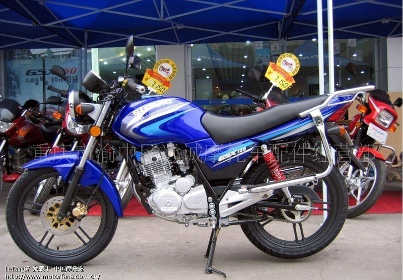 供应轻骑铃木gsx普通大; 重庆铃木摩托车; 轻骑铃木踏板摩托车图片