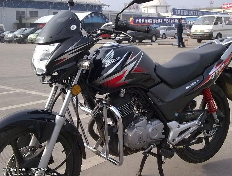 我的黑色新锋翼 图 - 五羊本田-骑式车讨论专区