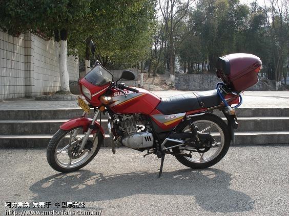 21机 的GS125 铃木王 摩托车