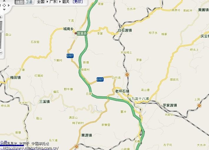 宜章县行政地图