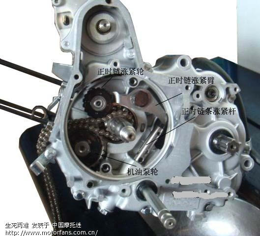 H100电启动发动机 150FMG发动机 拆卸图解 转