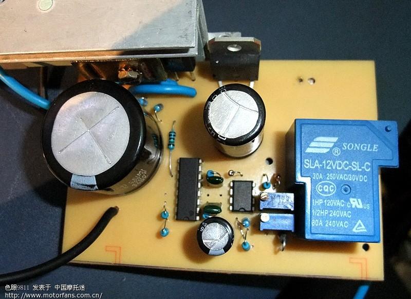 真正的开关型双场效应管整流稳压器有超压保护,更新了