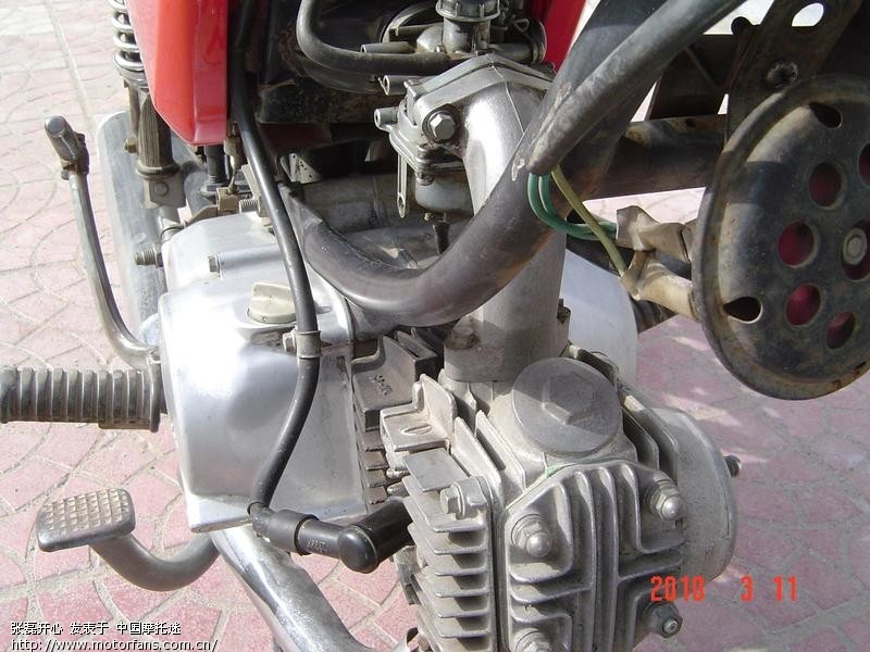 发动机一个螺丝钉都没动过,机器声音静没一点杂音,不烧机油,日产京槟