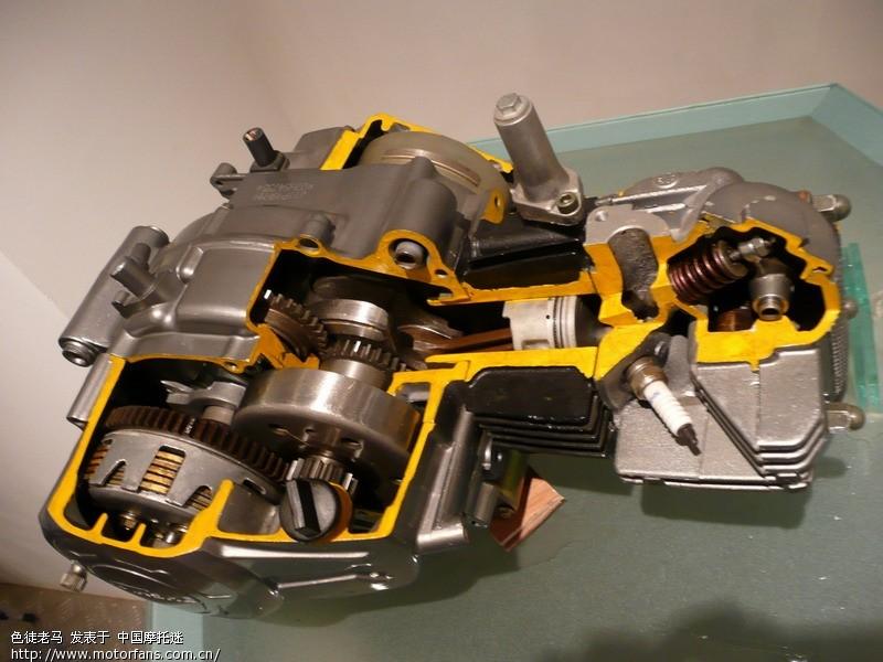 贵求高手给我发个YMH弯梁110的发动机内部解