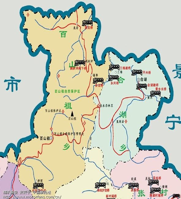 天崖山风景区地图