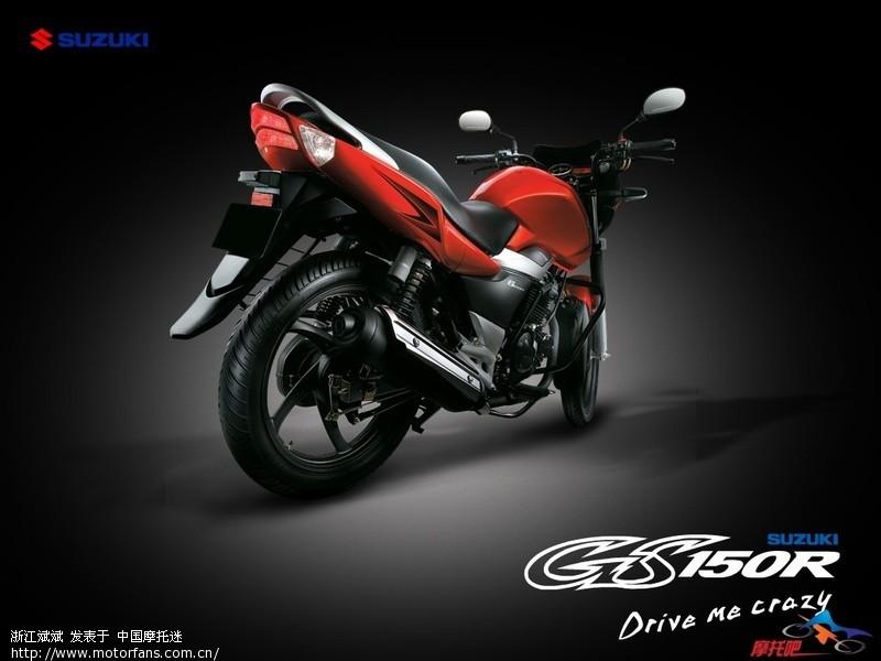 2010年轻骑铃木震撼推出的轻型街车gs150r