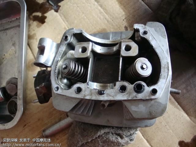 五羊本田mcr125摩托车解决凸轮轴和摇臂磨损问题之办法