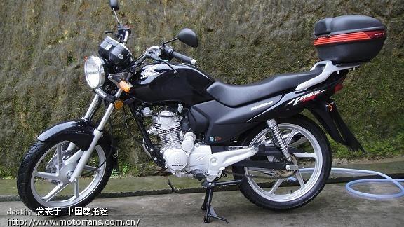 2010年4月7日:买五羊本田锋翼,黑色,前碟板轮,车价6800元(广东肇庆市