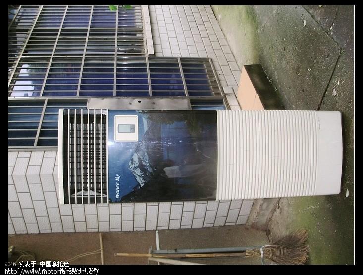 格力96灯箱款空调室外机拆解图记