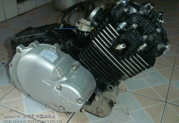 出售轻骑战豹125 发动机 是铃木的