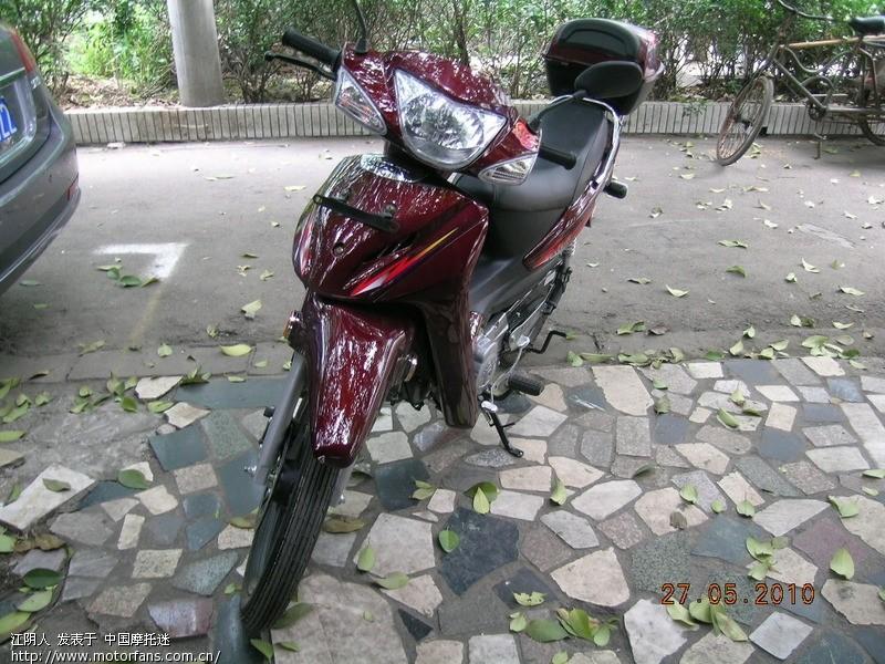 新人报道:金城铃木sj110-e骑回家 - 弯梁世界 - 摩托