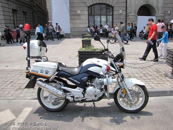 有感上海警察的摩托化