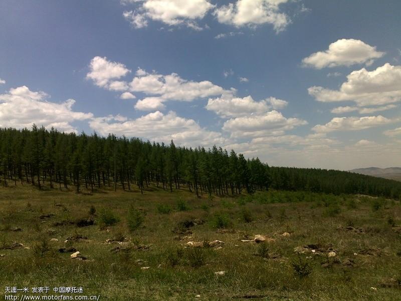 内蒙古高原牧场 哈达门 骑行