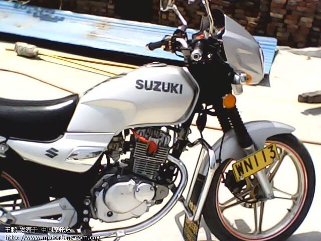 摩托车论坛 豪爵铃木专区 摩托车论坛 我越来越喜欢我的钻豹了 hj125k 图片