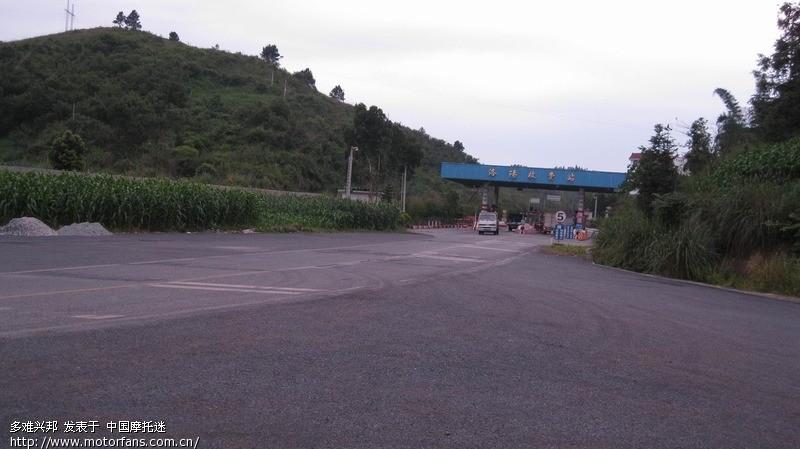 标题: 寂静的山路,广西河池环江.钱江摩托