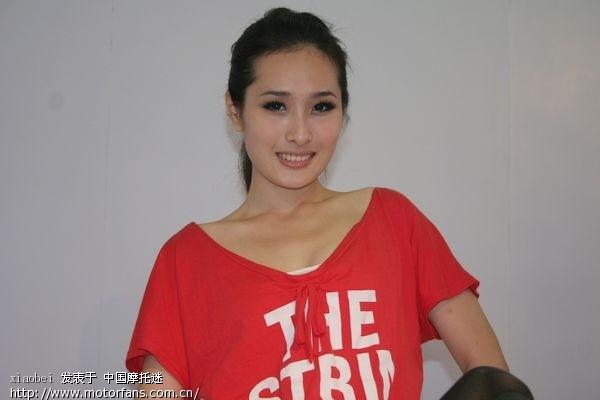 北京论坛酷车美女图-摩托车美女-钱江摩托-车展裸体CC