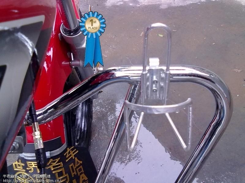 我的雅马哈天戟125s装饰配件效果展示高清图片