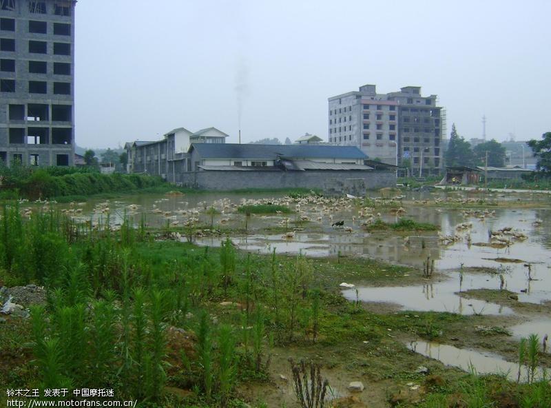 大湘西摩友交流区 下雨了门前的 娱乐场 中国第一摩托车论...