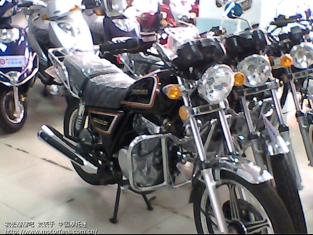摩托车论坛 豪爵铃木-骑式车讨论专区 gn125/hj125-8 03 兄弟准备