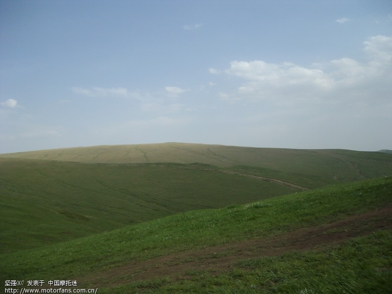 呼和浩特市圣水梁的草原