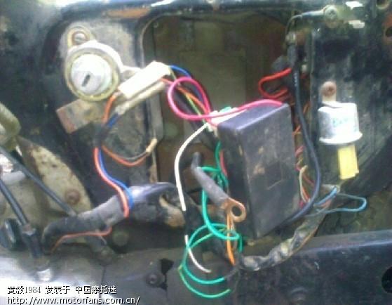 铃木k125.白金点火已改直流电火,图片已更新.没见过这样的点火系统