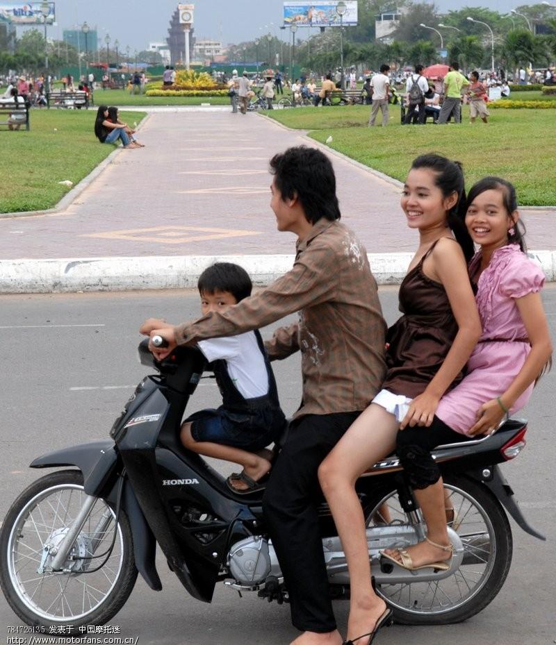 柬埔寨美女摩托 踏板论坛