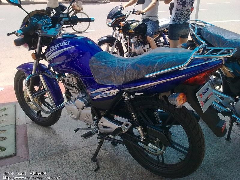 全新国3骏威gsx125 3g 济南铃木 摩托车论坛 中