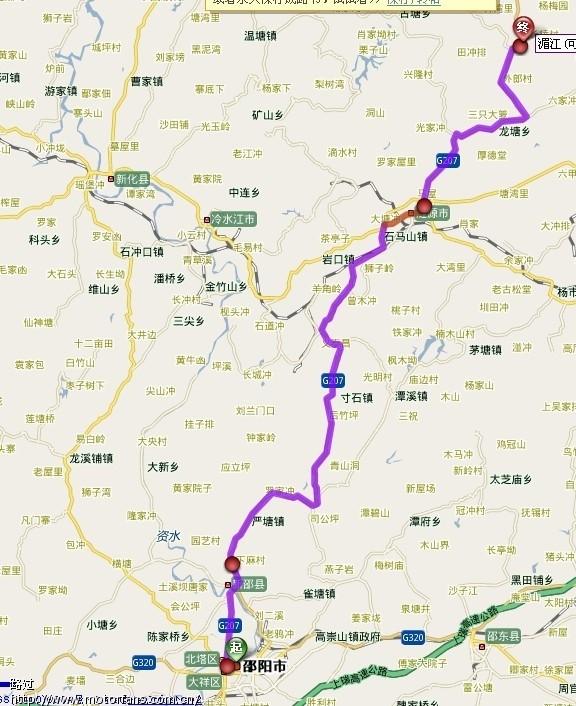 湄江风景区 地图