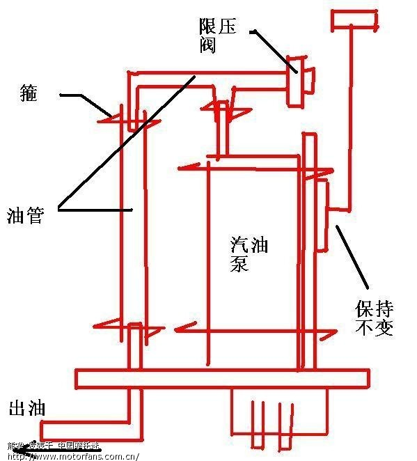 雅马哈天剑电路接线图