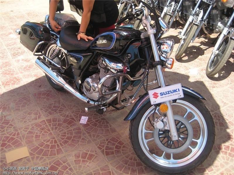 刚买变色的美式太子gz125 - 豪爵铃木-骑式车讨论专区