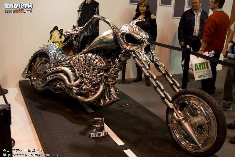 灵魂战车 又名 恶灵骑士 太子车图片