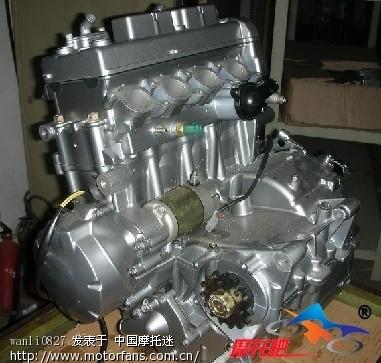 裸看钱江国产超级大排发动机图片