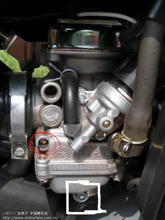 雅马哈踏板摩托车讨论区 等压真空膜化油器图片