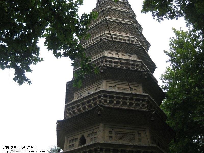 老永城八景之一 崇法寺塔