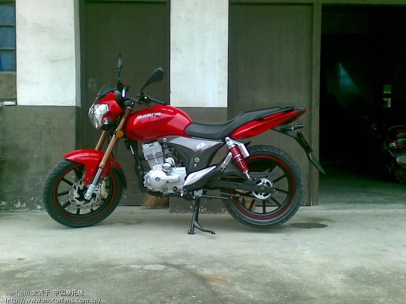 摩托车论坛 钱江专区 摩托车论坛 钱龙买回家了.红色 中国第一摩托车论