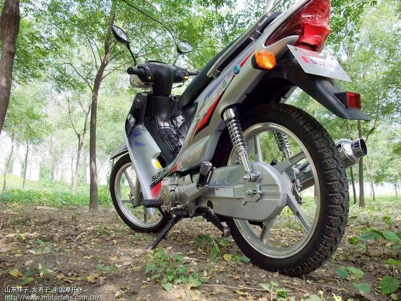 摩托车论坛 - 弯梁世界 - 新购欧二轻骑铃木普赛驰,请大家进来看看