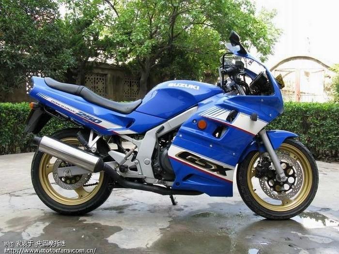 出售轻骑铃木征服者GSX250高清图片
