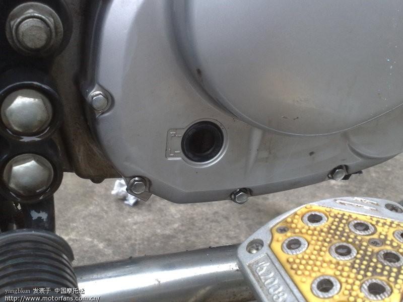 钻豹碟刹上泵维修与发动机边盖的清洗(用处大