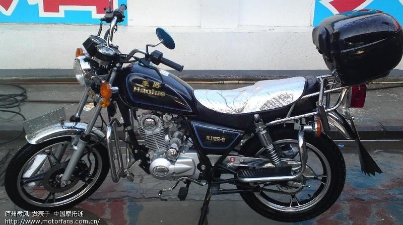 豪爵125-8系列摩托车_豪爵铃木摩托车