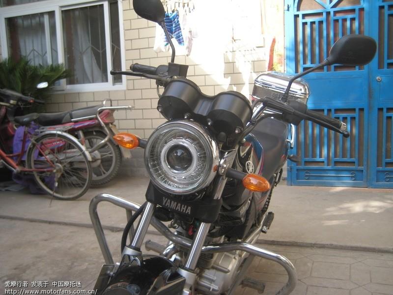 已经安装了摩托车氙气灯和安装透镜的摩友们请进!