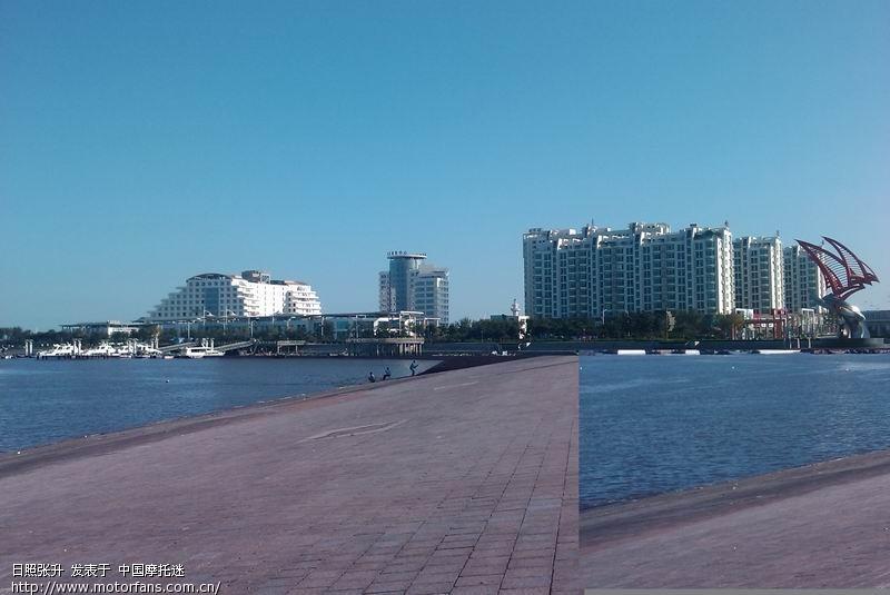 秋天下午日照海边是新人的天堂