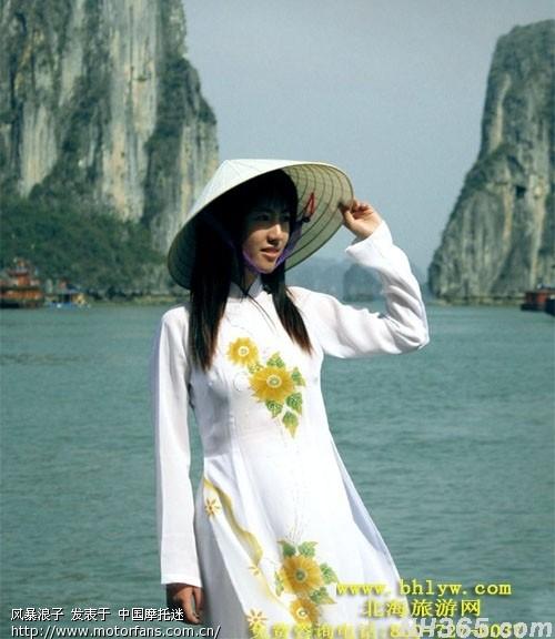 去越南租个摩托车旅游 顺便带个越南老婆大量