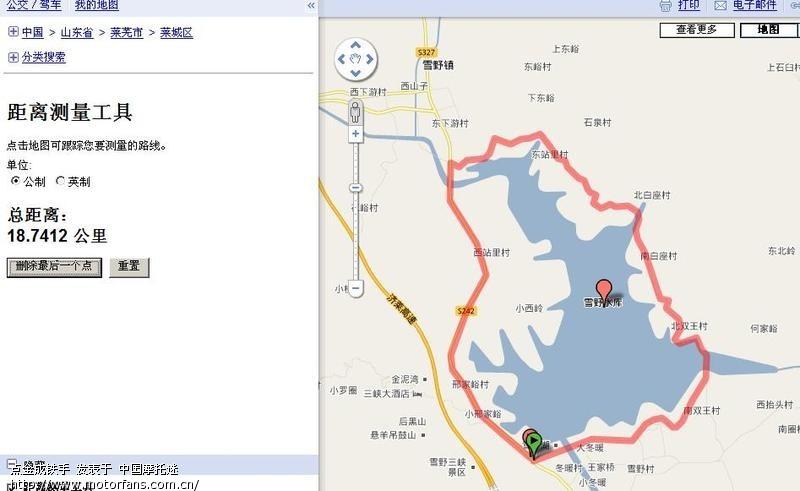 山东省莱芜市地图