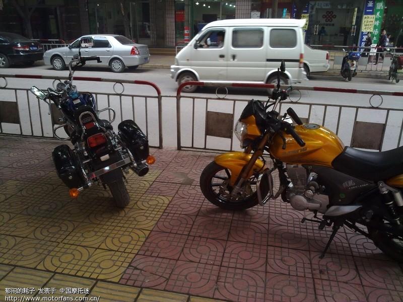 豪爵ga150电喷太子-豪爵铃木-骑式车讨论专区-摩托车