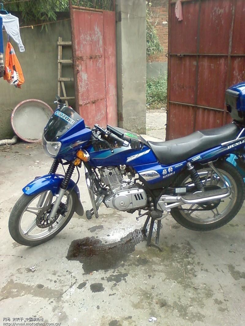 摩托车论坛 豪爵铃木-骑式车讨论专区 骊爽 03 豪爵钻豹125k-2 的