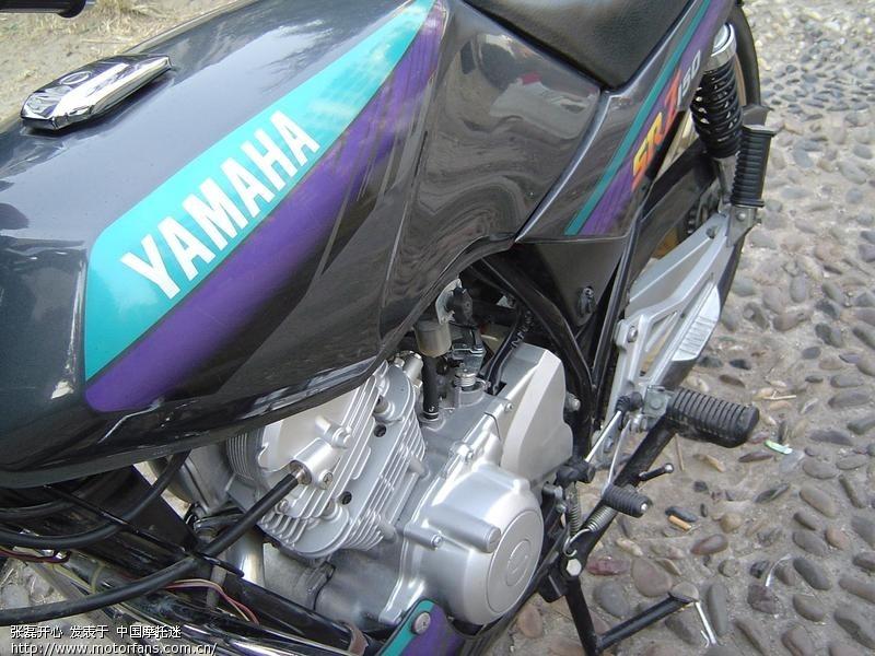 玩家收藏的96极品yamaha劲豹150和没动过的天津本田90机器高清图片