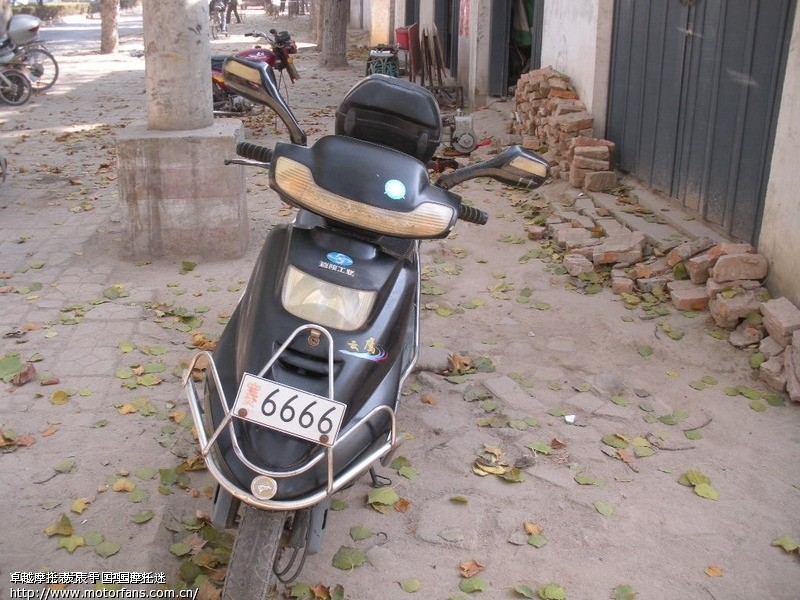 出售 嘉陵125踏板摩托