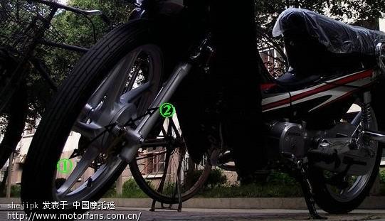 刻度链条线和鼓刹v刻度摩托-弯梁螺丝-世界摩卡壶4人份图片