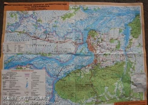 及周边哈巴罗夫斯克市地图