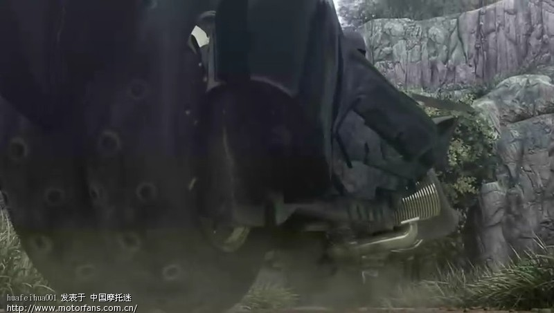 摩托的轮子有点像道奇战斧的啊高清图片